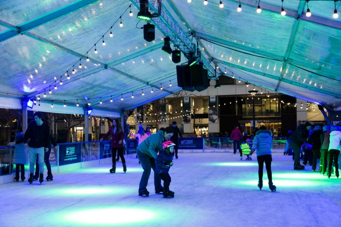 Ice skating will be back in Garema Place this winter