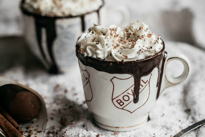 Recipe: Boozy Spiced Dark Hot Chocolate