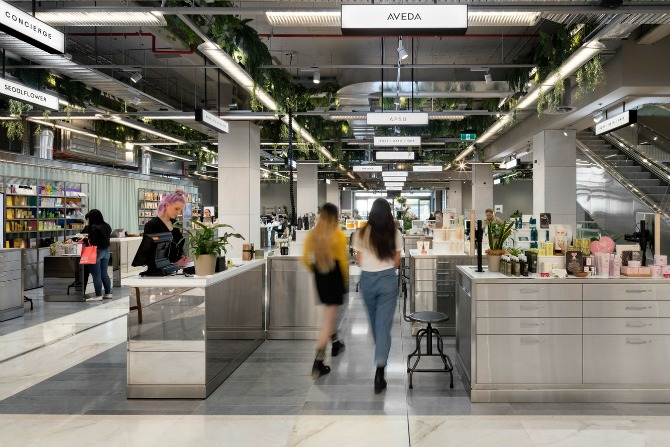 One year of Canberra Centre's most beauty-full precinct