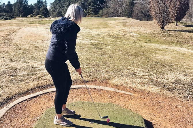 Pitch & Putt at the Canberra International Golf Club