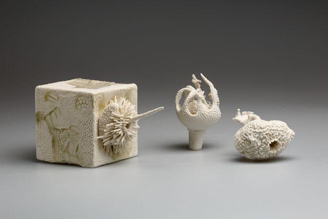 Futuristic artworks meet ancient lands in Avi Amesbury's latest exhibition