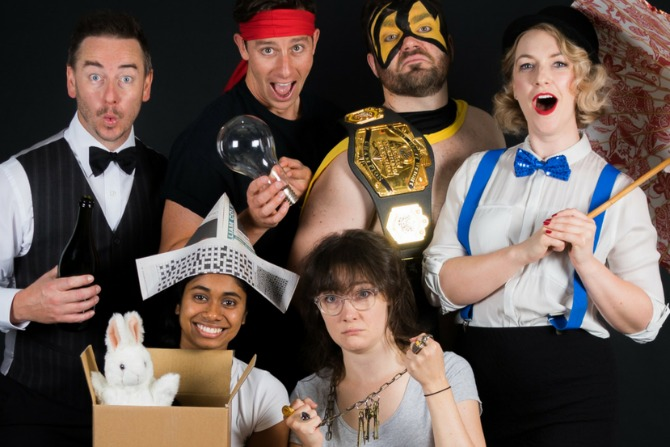Canberra Unscripted: Six shows, one weekend, no script