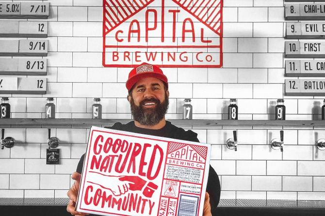 Capital Brewing Co: good natured community