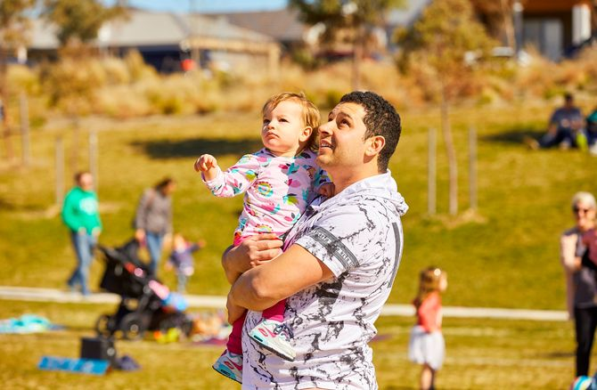 Fly High at Googong this Father's Day
