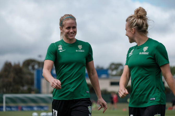 UC becomes Canberra United's new training base