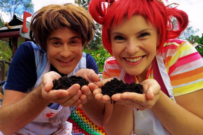 Get grubby with Dirtgirlworld at Floriade