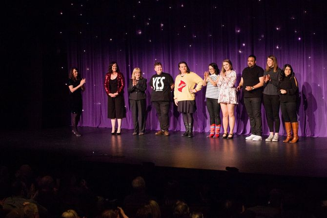 Bravery and hilarity at the Fearless Comedy Gala 2018