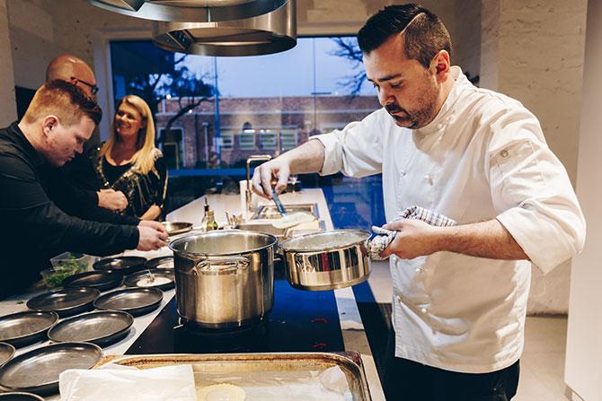 Kitchen Conversations: Damian Brabender
