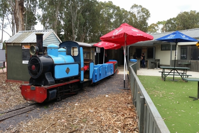 Full steam ahead at Yarralumla Play Station
