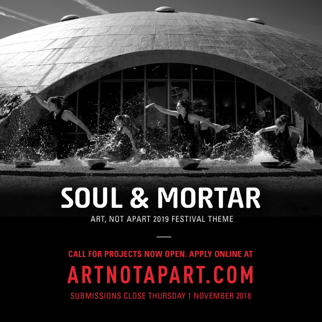 Art, Not Apart 2019 calls for soulful artist submissions |