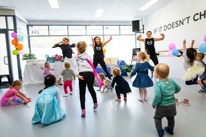 Dance and reading the key to making childhood a blast