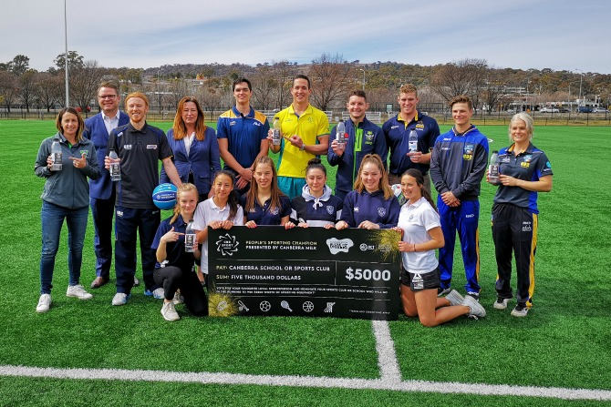 Win $5,000 worth of sporting equipment