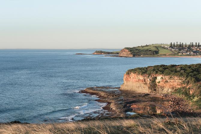 Coast trail: where the hills meet the sea