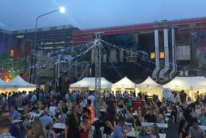 Wine and food festival brings laneway to life