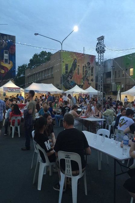 Food And Wine In The Laneway Canberra