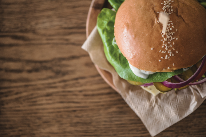 Three delicious DIY burgers
