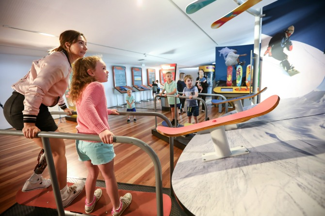 MathsAlive! brings science and snowboarding to Canberra
