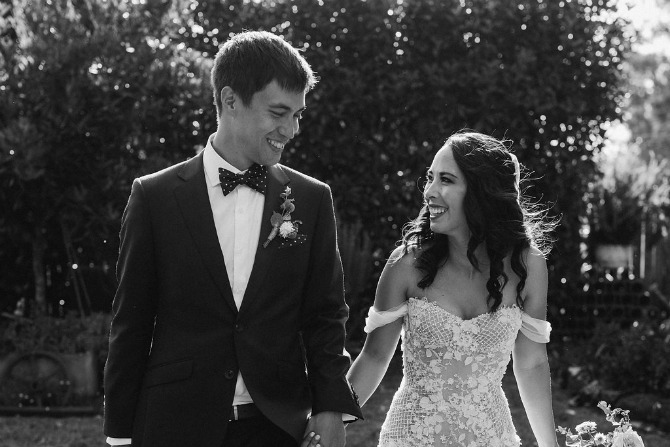 Real wedding: Nicolas and Olivia