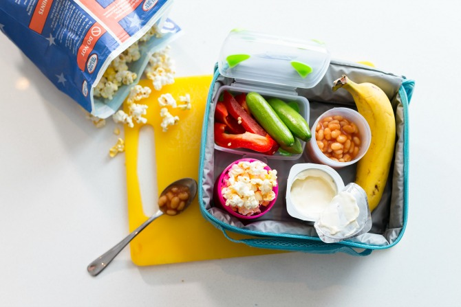 Three simple tips for healthier lunchboxes
