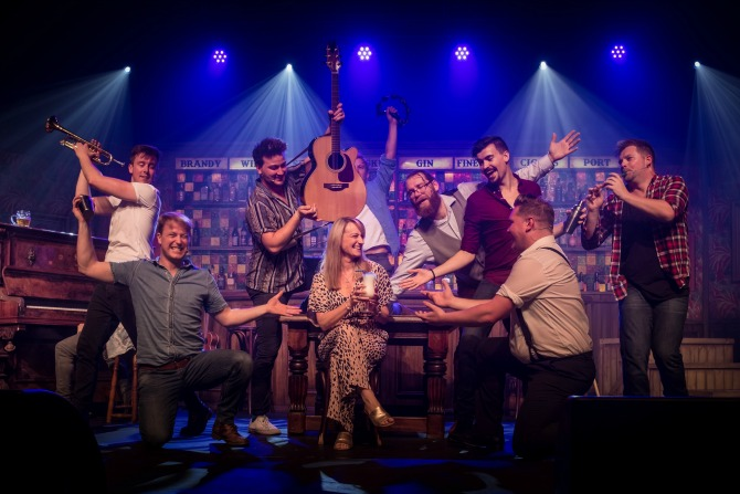 The Choir of Man: the world's most entertaining pub