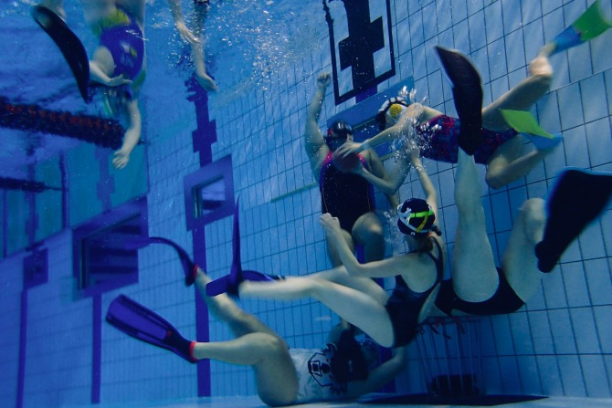 Everything you need to know about Underwater Rugby
