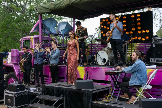 Locals' plea: 'don't stop the music'