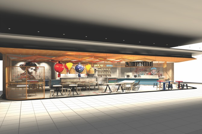 1,000 sqm of new retail, food and beverage for Canberra Airport