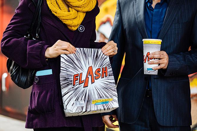 "93586141b574 Flash Eats giving away 500 free burgers. """