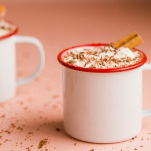 Recipe: White Hot Chocolate with Cinnamon