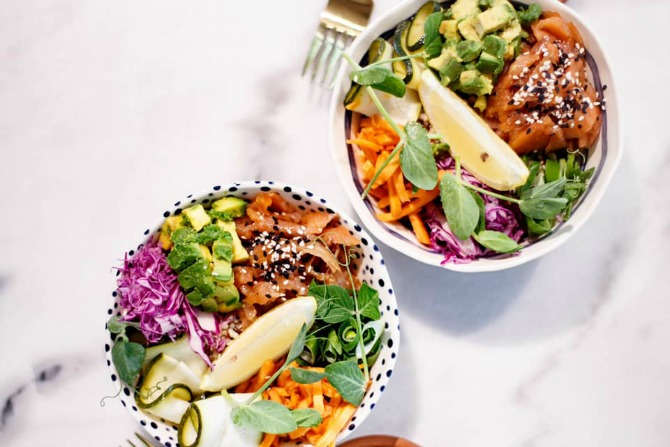 Top 10 spots for a healthy food fix