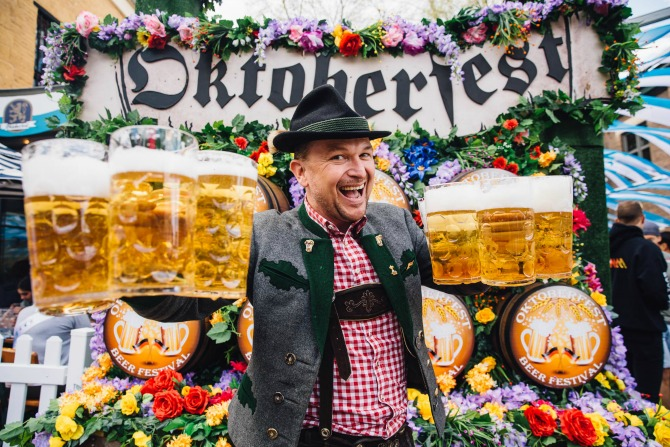 Get ready for 500 free hotdogs and a huge Oktoberfest