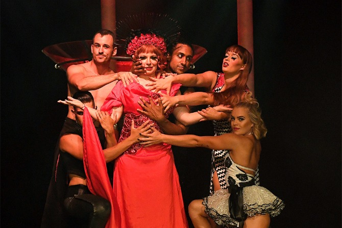 Rouge: risqué adult circus comes to Canberra