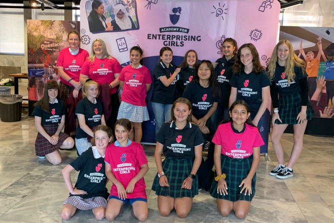 Canberra's enterprising girls to benefit from new program