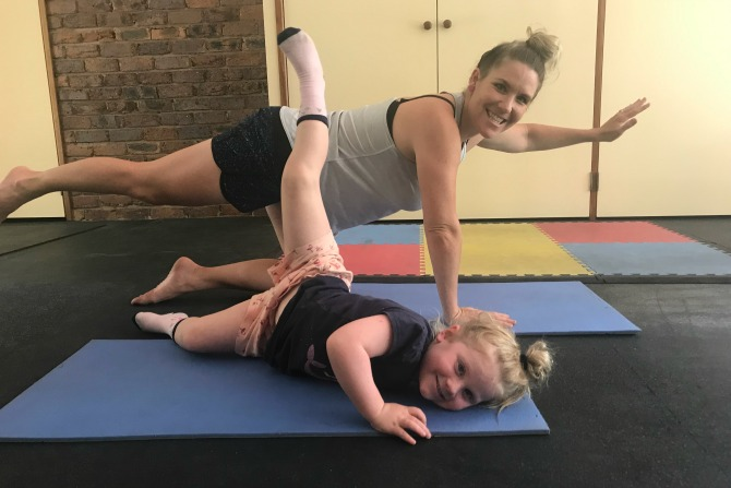 How to exercise with the family when 'smoked in'