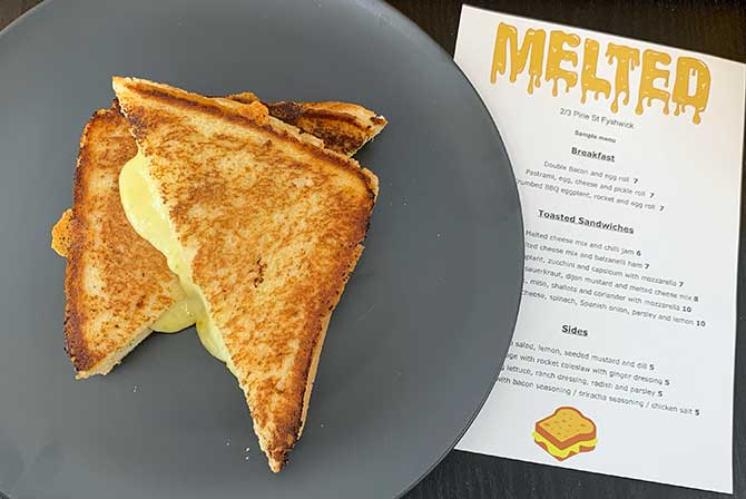 Melted: the humble toastie is given due respect
