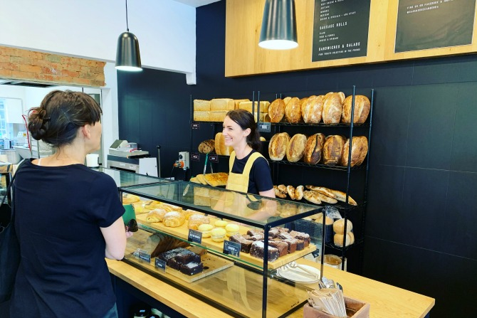 The Ainslie Bakehouse – first bite of new bespoke bread