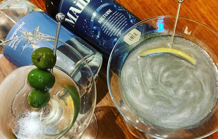 Quarantini: HerCanberra Virtual Bar Cocktail Recipe