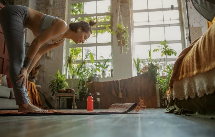 Lululemon's tips for creating a yoga space at home