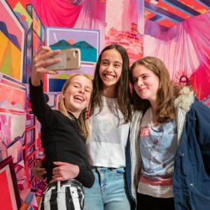 Art IRL: teens take over the NGA