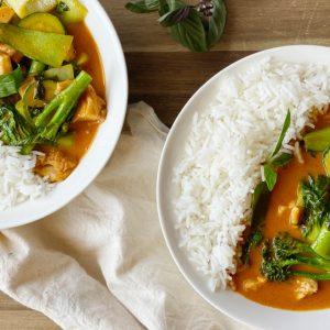 Recipe: Red Chicken Curry
