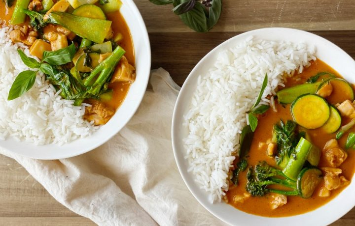 Recipe: Red Chicken Curry