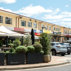 The Golden Age Of Suburban Shopping: Ainslie Shops