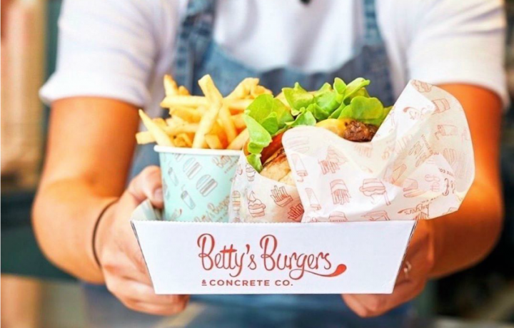 New food alert: Betty's Burgers opens at Canberra Centre