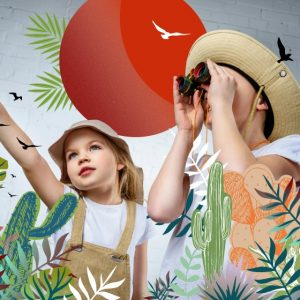 Who's up for a safari adventure these school holidays?