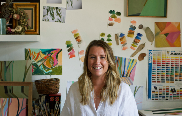 Five minutes with artist Madeline Young