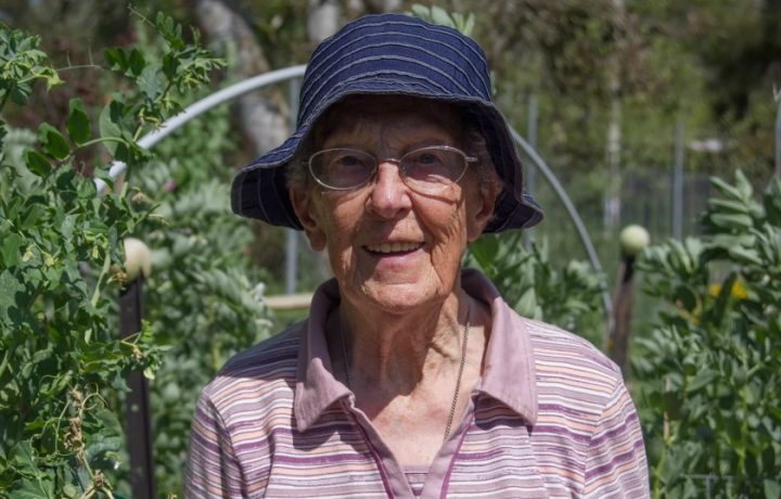 Meet Sister Veronica: gardener, avid traveller and national treasure. Did we mention she's 97?