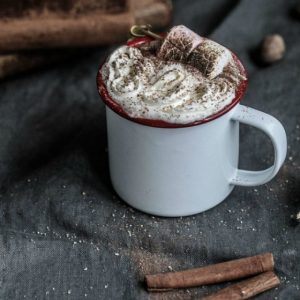 Recipe: Cosy rum-spiked milk (cue: blankets and a good book)