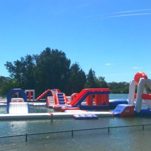 Splish splash: The Canberra Aqua Park is back!