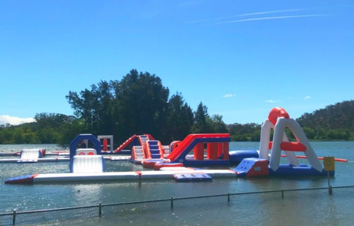 Splish splash: The Canberra Aqua Park is back!
