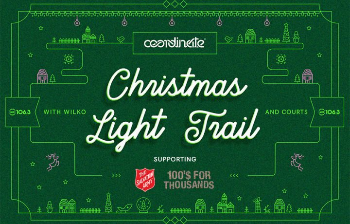 Lights, Carols, Christmas: Introducing the epic Coordinate Christmas Light Trail